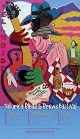 Telluride Blues & Brews Festival | 2004 Poster