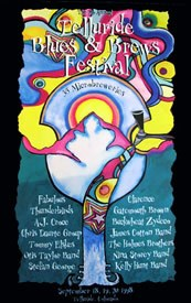 Telluride Blues & Brews Festival | 1998 Poster