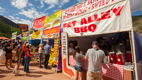 <p><strong> Food Vendors</strong> The savory food menus will keep your taste buds satisfied! <a href=/news/get-to-know-the-2019-festival-vendors>More →</a></p>