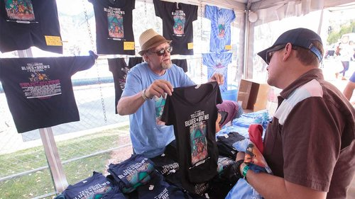 <p><strong> Merch </strong> Shop for official Festival merchandise! <a href=https://shop.tellurideblues.com>More →</a></p>