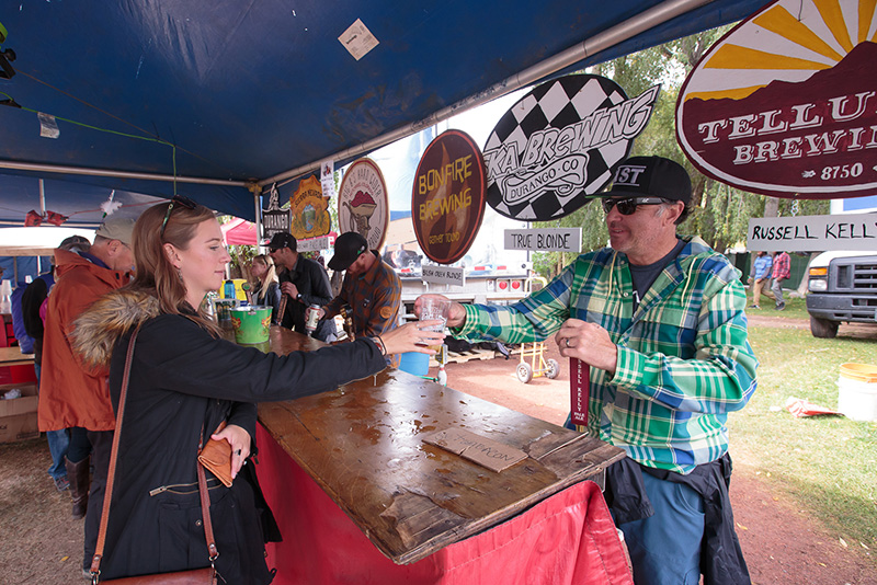 <p><strong>House of Brews </strong> Enjoy a mix of six craft beers and two hard ciders from six of the festival's breweries.<a href=/brews>More →</a></p>