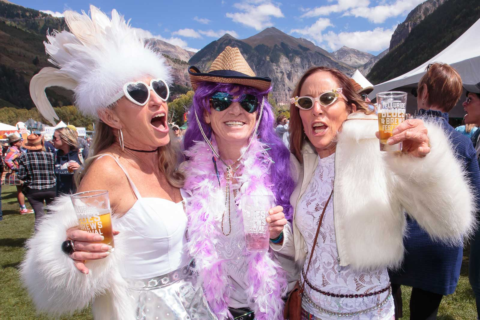 The Grand Tasting at Telluride Blues & Brews Festival