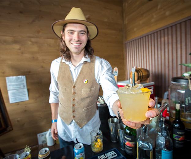 Telluride Blues & Brews Festival | Mixologist Jonathan Yaseen