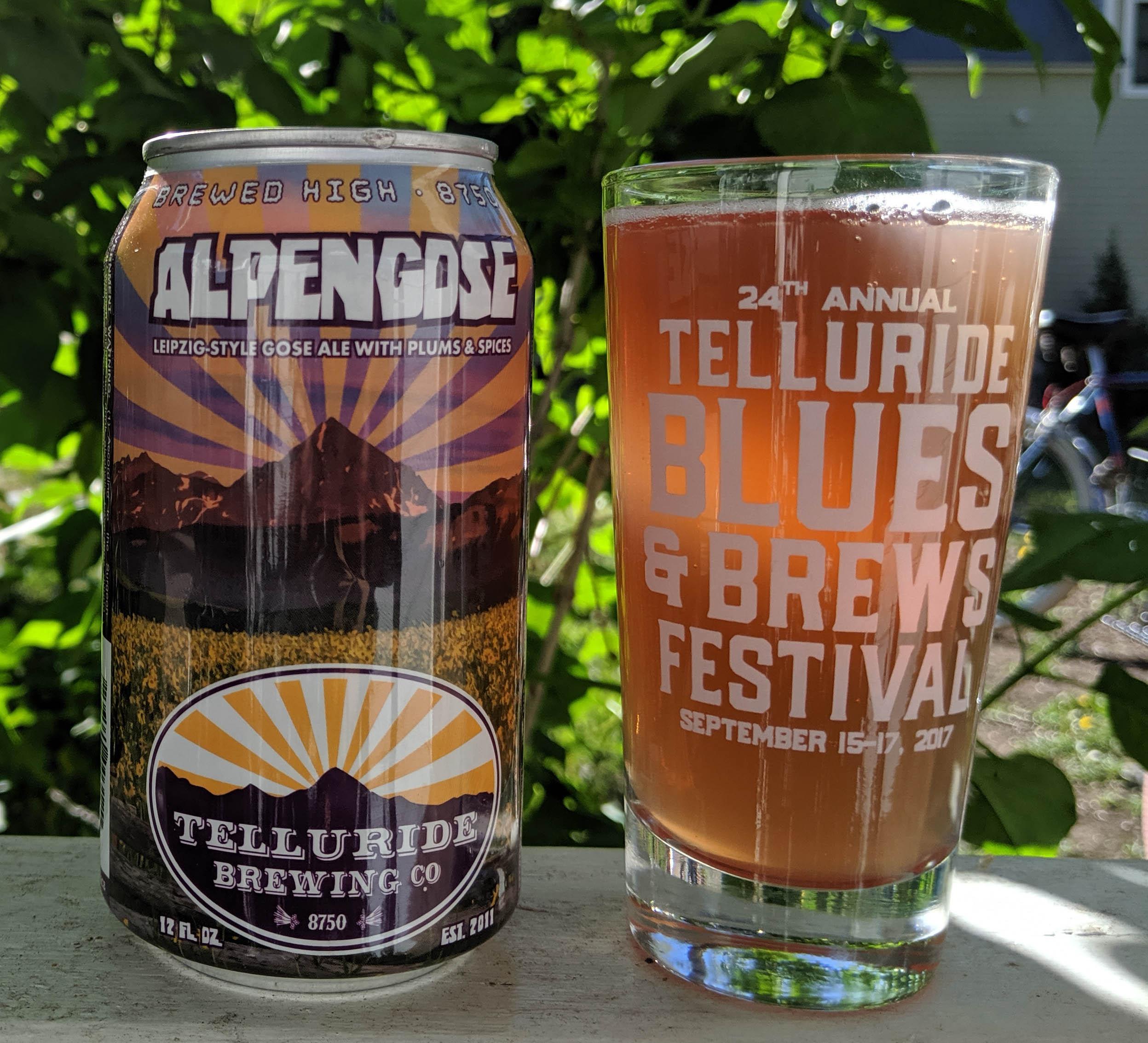 Telluride Blues & Brews Festival | Taste Tease AlpenGOSE