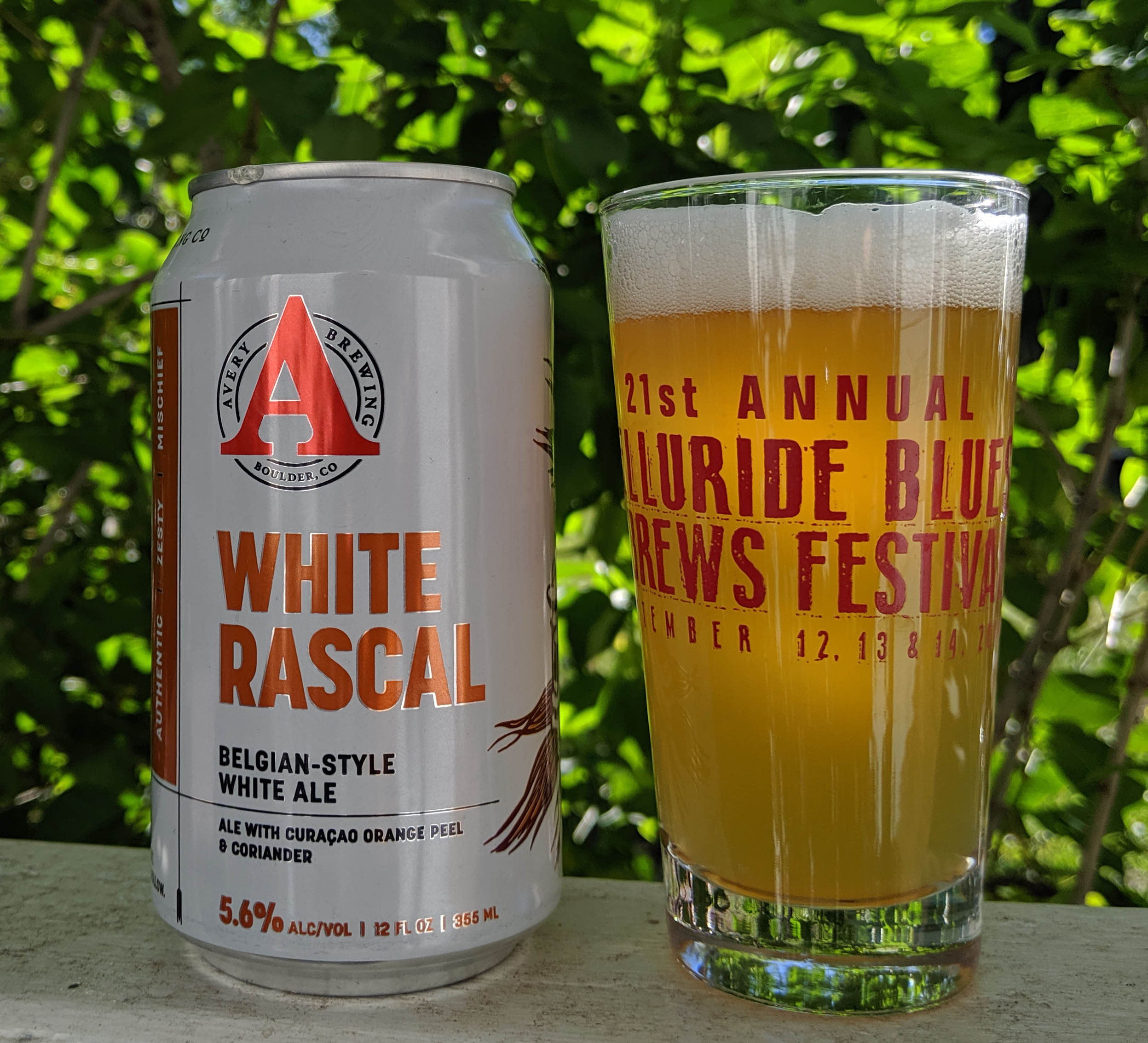 Telluride Blues & Brews Festival | Taste Tease White Rascal