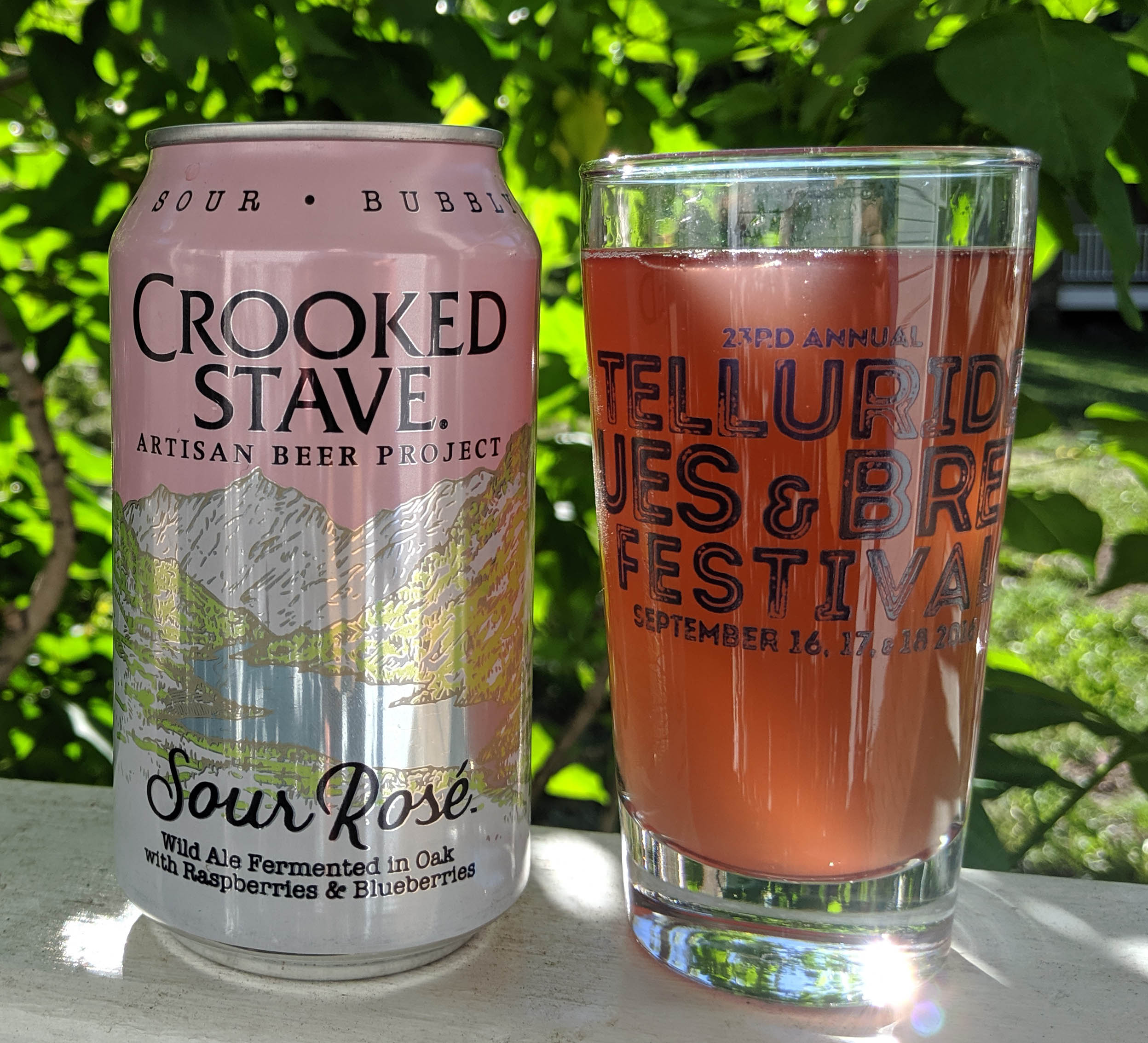 Telluride Blues & Brews Festival | Taste Tease Sour Rose