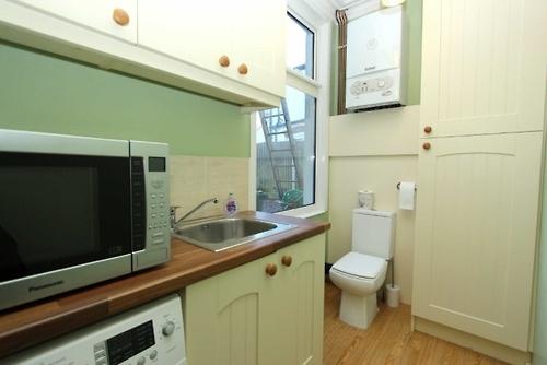 toilette dans la cuisine