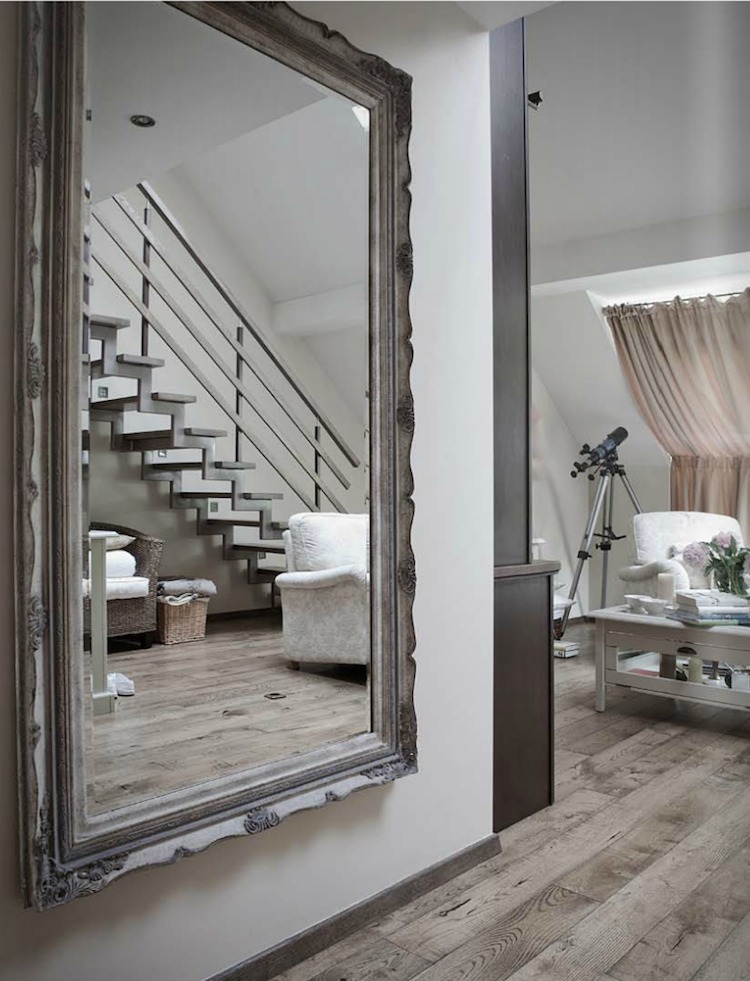 miroir couloir aggrandir