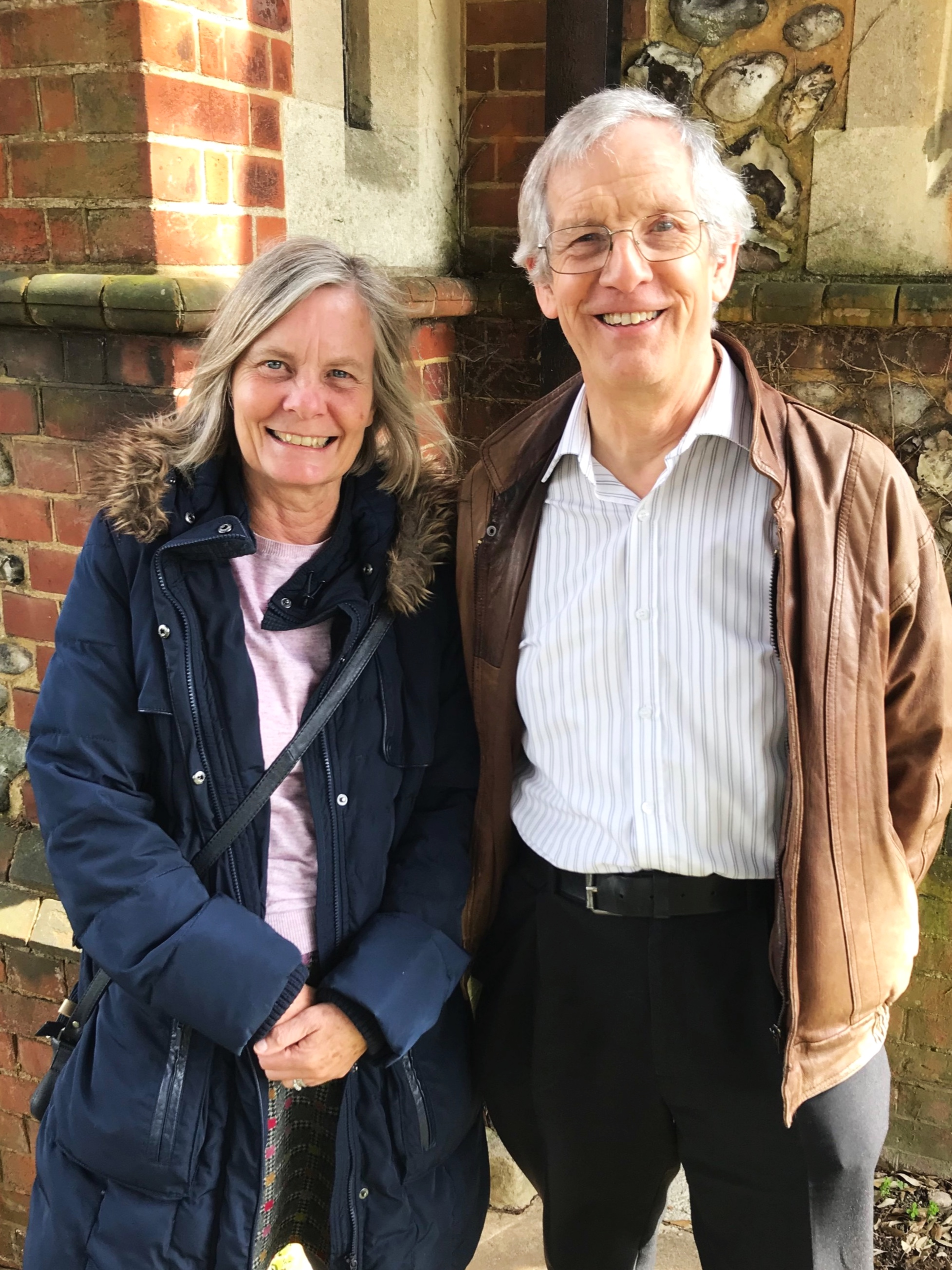 Judith & Peter - Our Wardens -