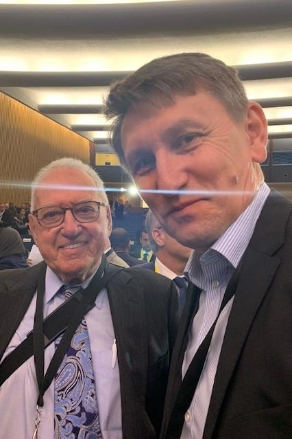 Larry Lerner and Oleksandr Zaiets
