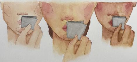 Peeling Off the Silence by Garciella Delgado, NYT 1/2018