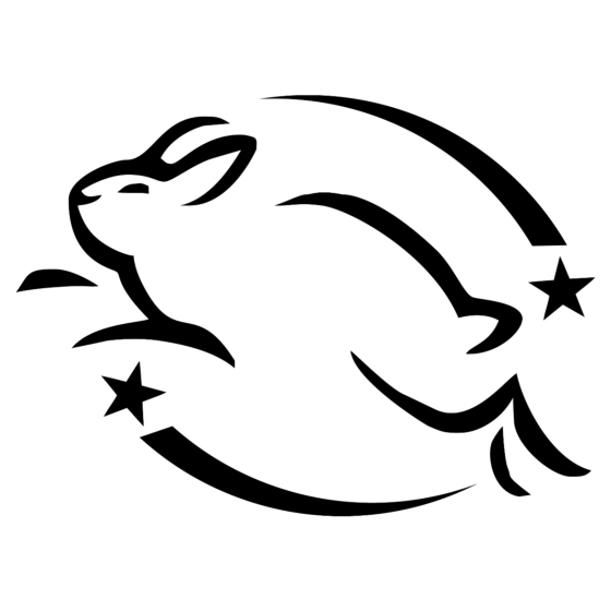 The Leaping Bunny logo denotes truly animal-friendly products.