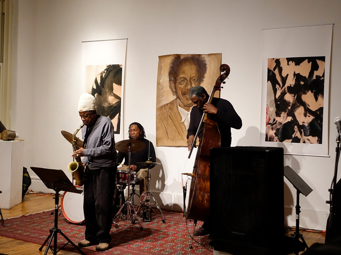 Jemeel Moondoc, Newman Taylor Baker and Larry Roland