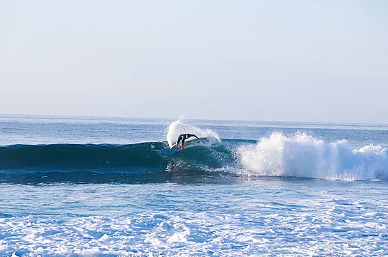 @wldkeith on a right-hander down on the Baja