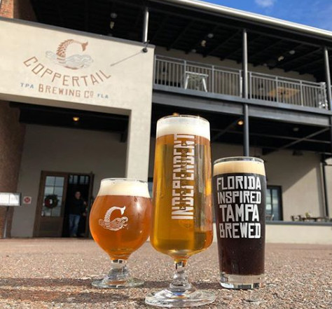 Photo Credit: Coppertail Brewing Co.