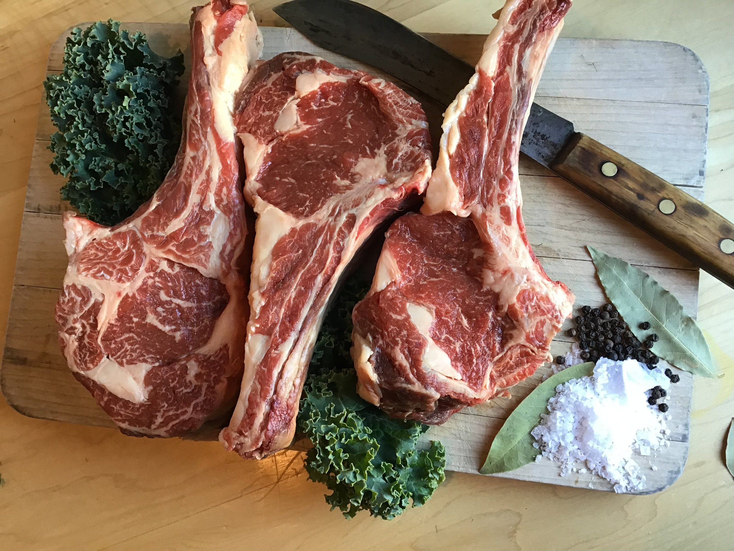 $60 - Large Family - 1 # Cured Sausages2 # Ground Beef1 # Premium Steaks2 # Braising Meats