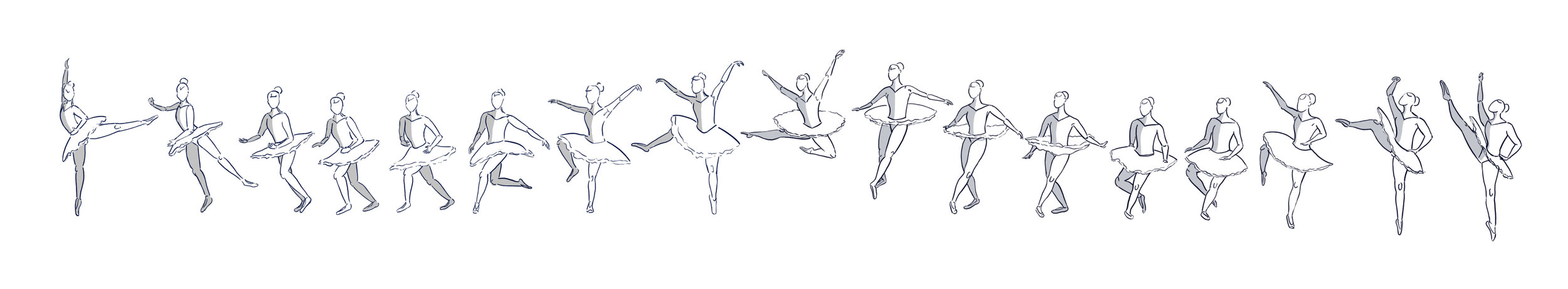 Ballet Jump Sequence  Used live video reference footage