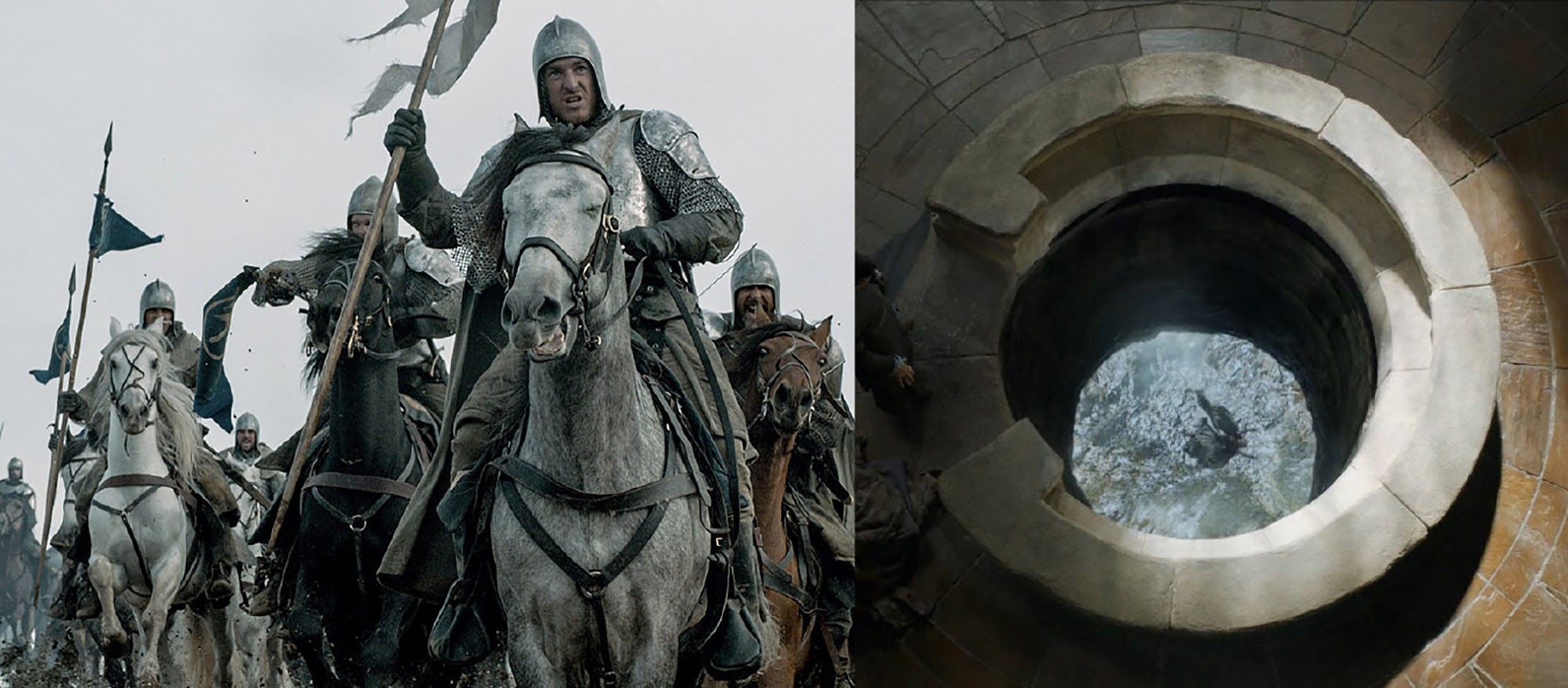 Collaboration isn't a pit; collaboration is a ladder. (Images: HBO)