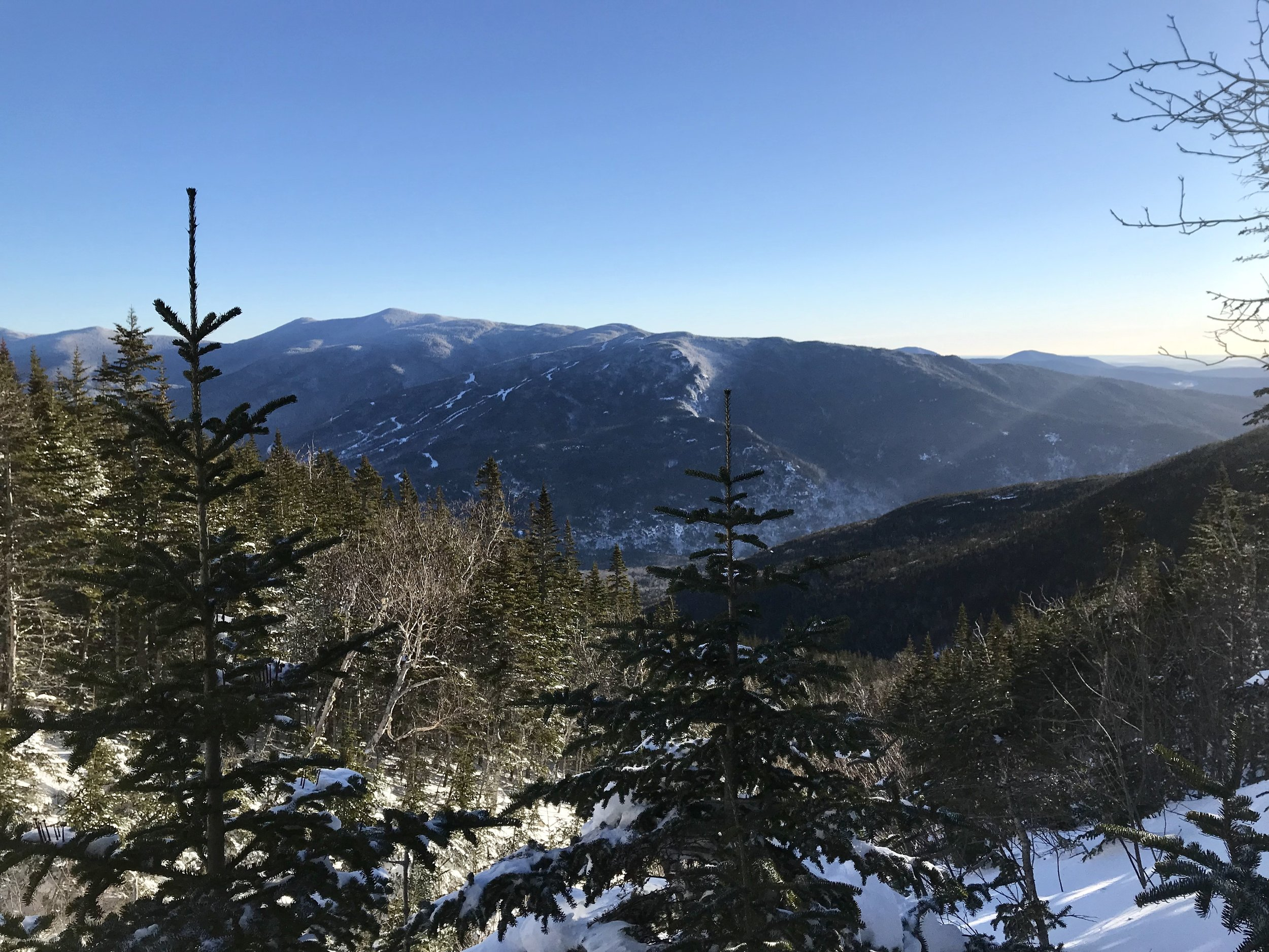 Crystal clear views of Wildcat Mountain