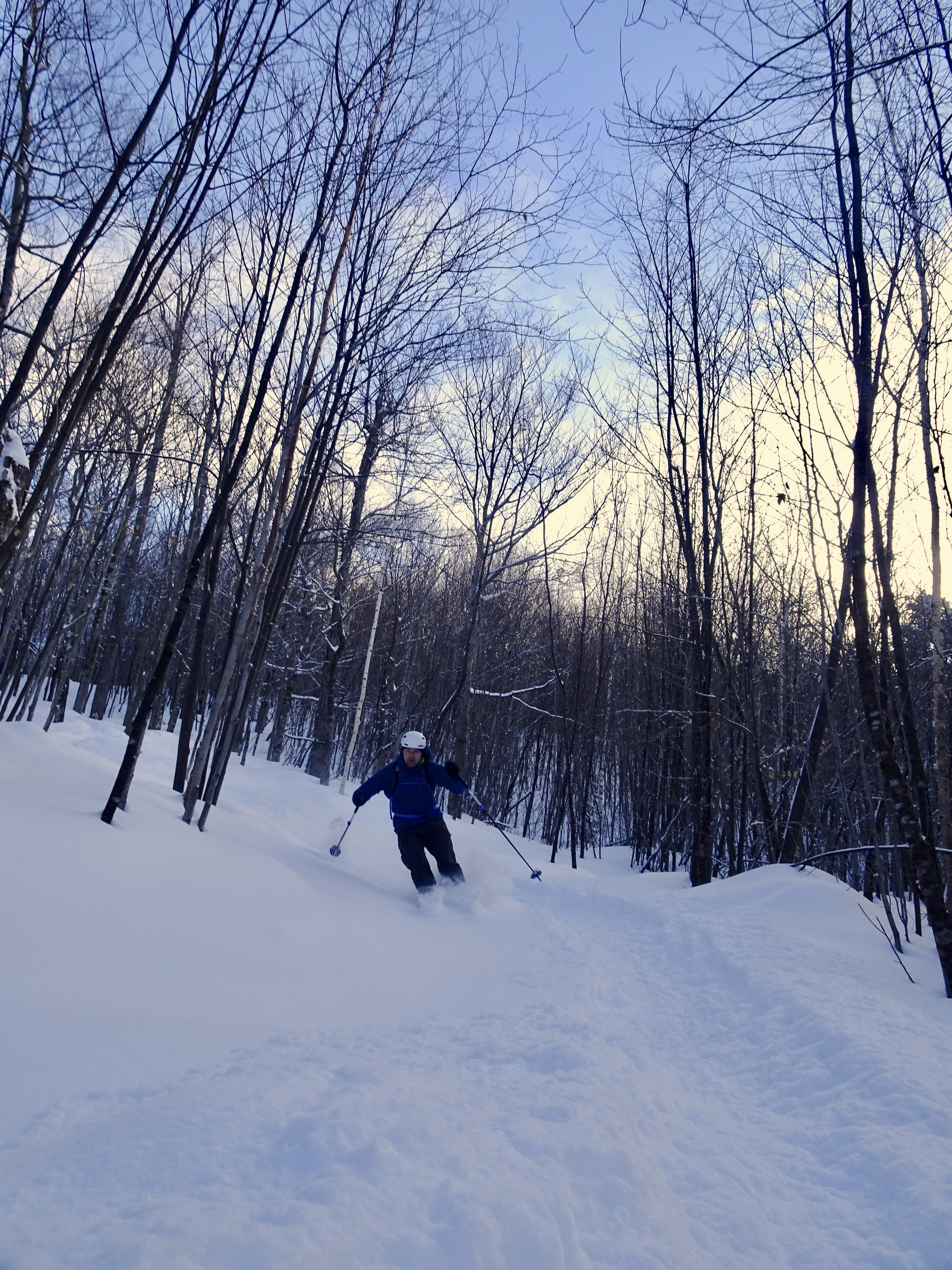 Maple Villa Glade Skiing 3