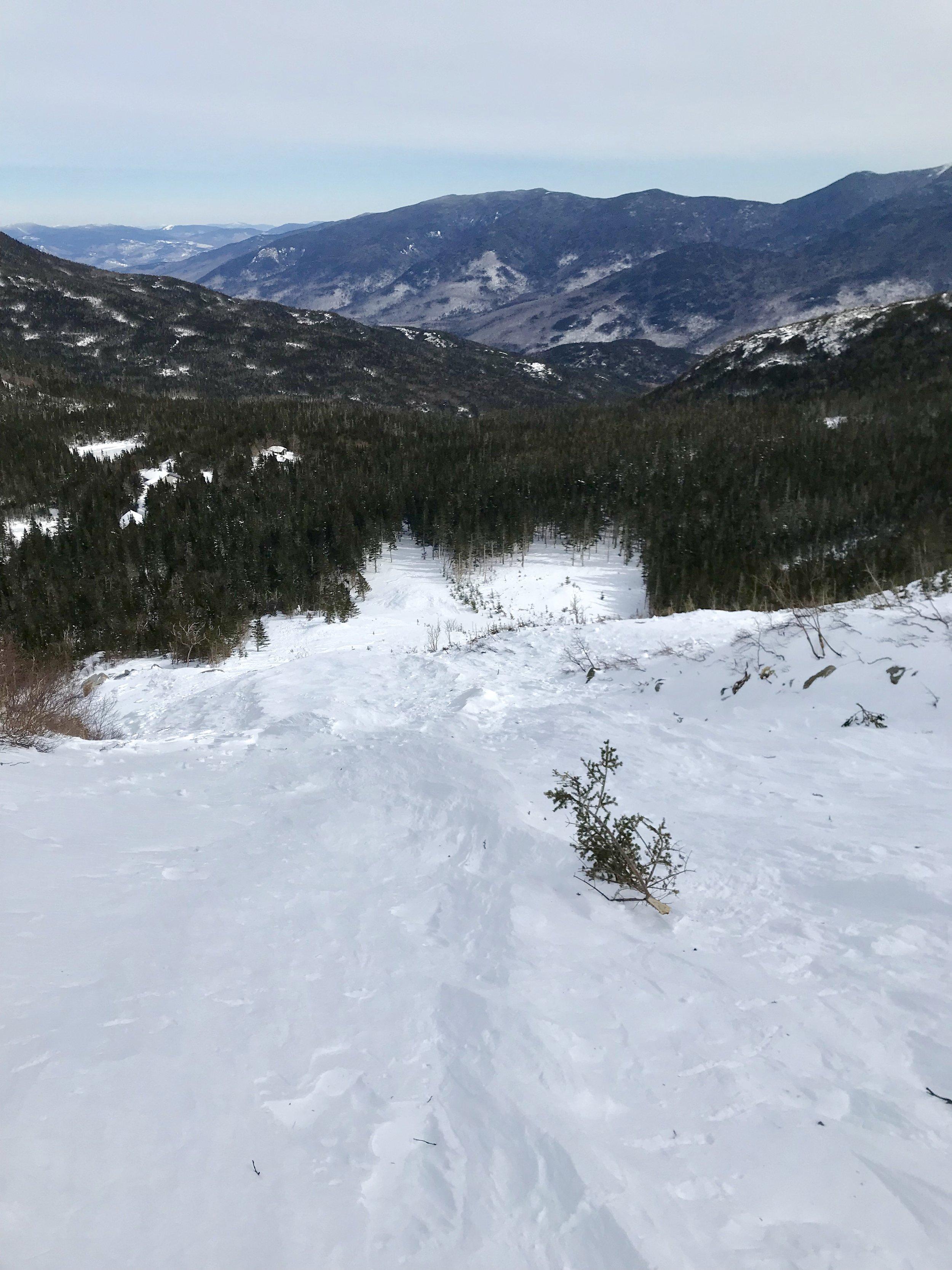 Hillman's Highway Avalanche Debris