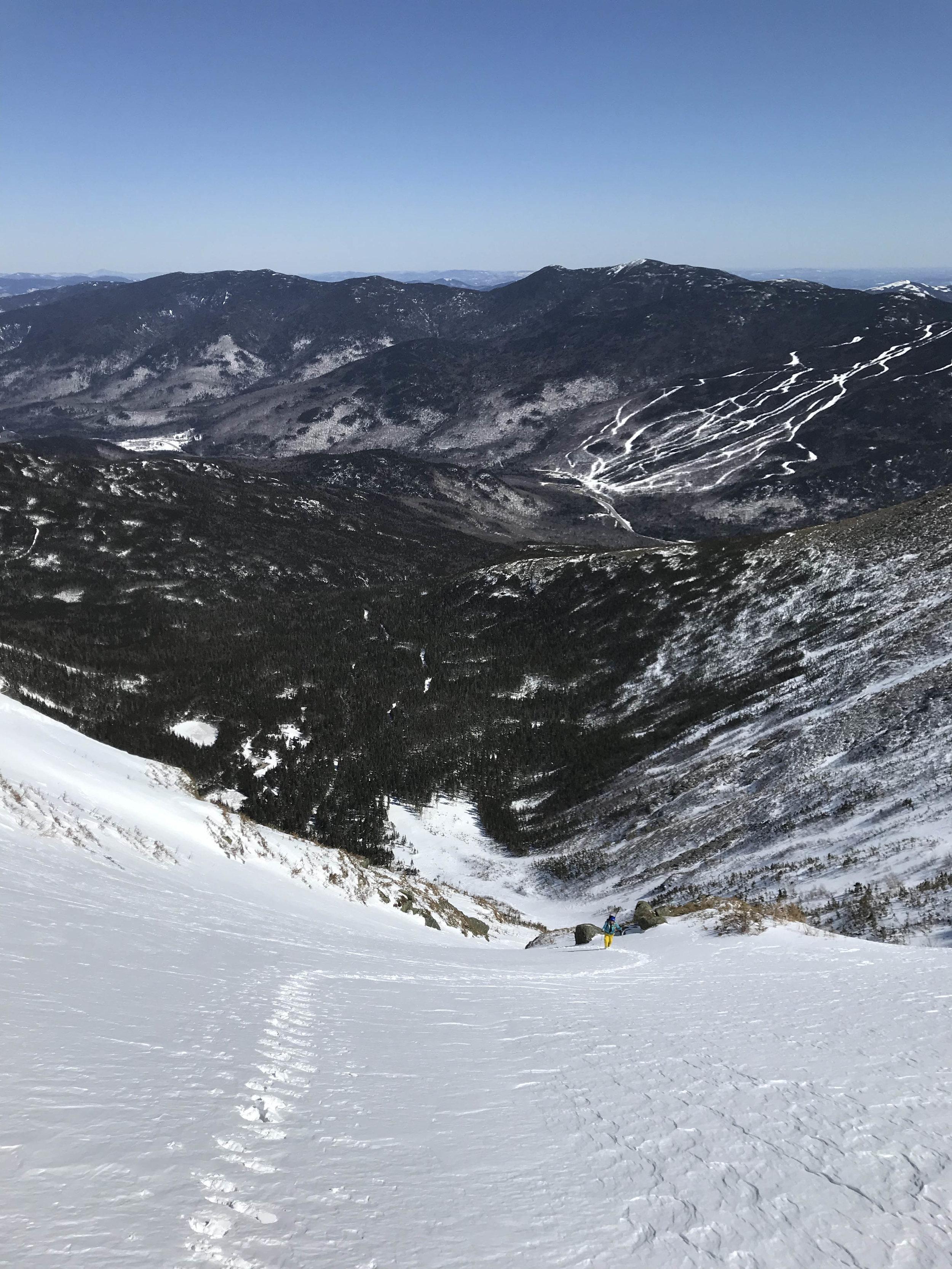 Skiing Hillman's Highway