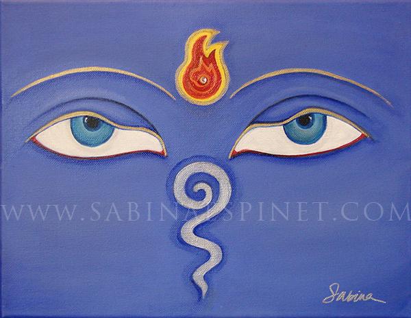 Third Eye of Buddha