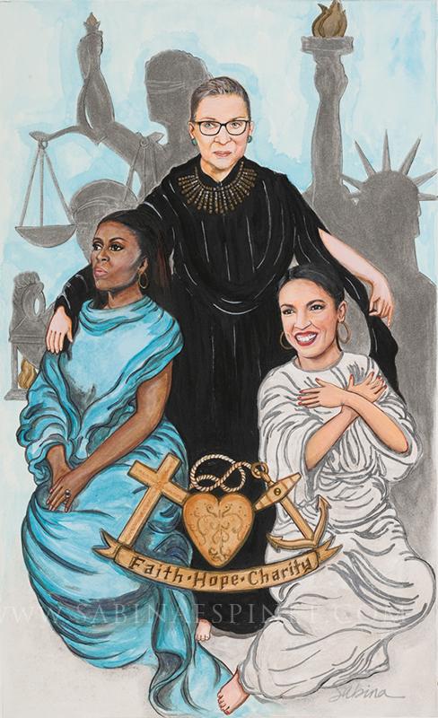 Virtues- Faith, Hope & Charity
