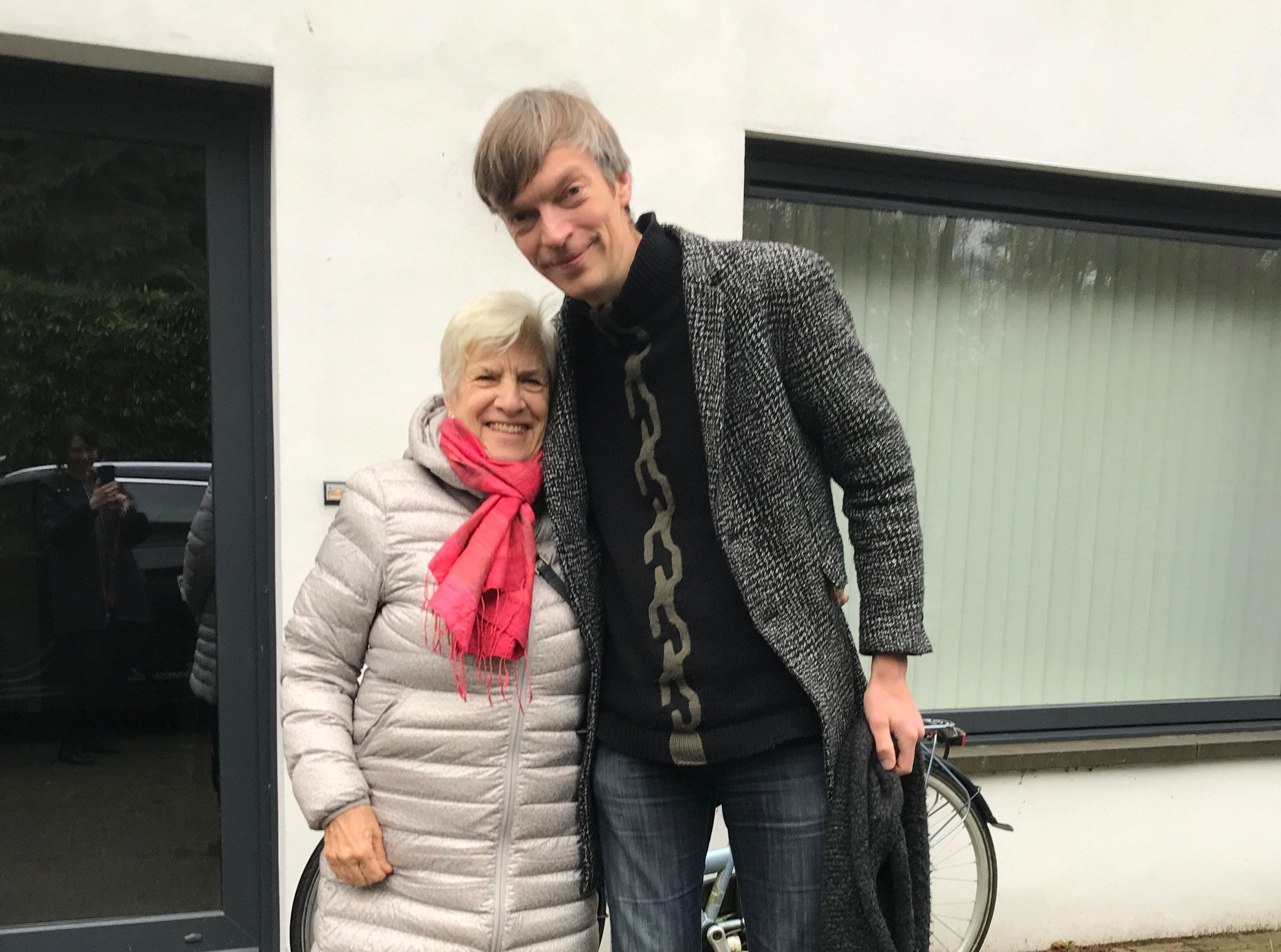 Betsy met up with Roel Arkesteijn of the Dutch Art Institute in Venice to discuss a promising project lead (2019).
