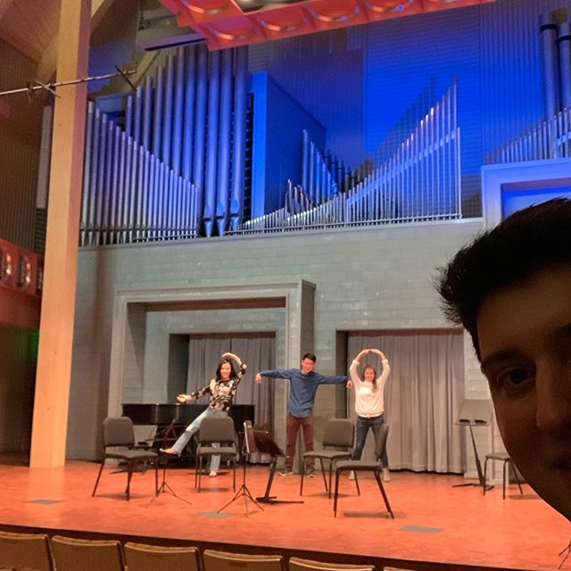 Thank you to @sdstatepics School of Performing Arts for hosting us this weekend where we gave a masterclass and recital in this beautiful new hall! We had a fantastic time working with the students and a mini milestone for our group, our first program performed with TWO Beethoven quartets!! Not to mention meeting a fellow Terp the director of the School of Performing Arts, David Reynolds😀 @terpsmusic