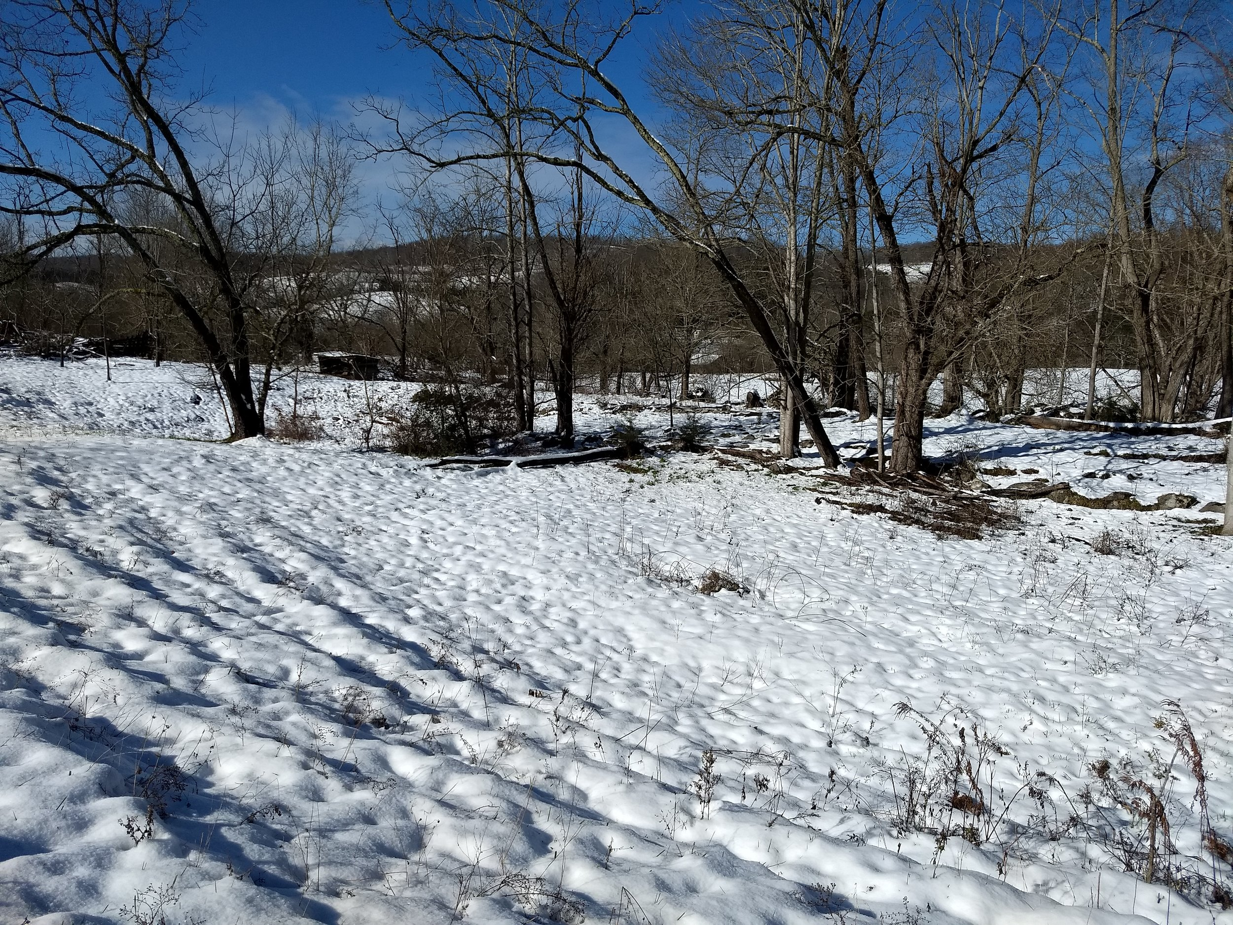 The Lord blessed Ararat with a beautiful snow -
