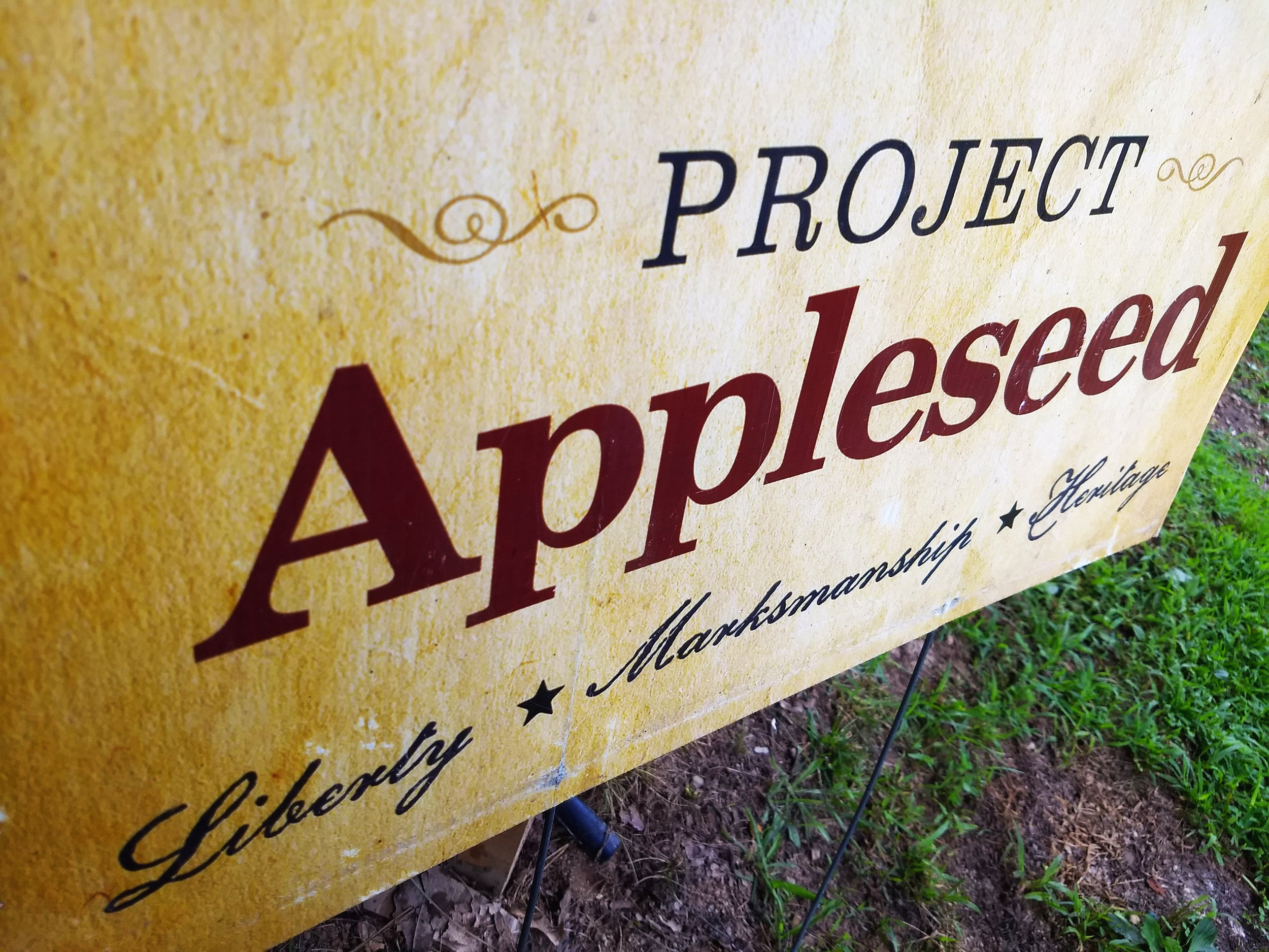 Hosting an Event - We recently hosted a Project Appleseed which is historical marksmanship class on the farm.  We have hosted them before and really love opening up the farm and range for people to learn and enjoy.