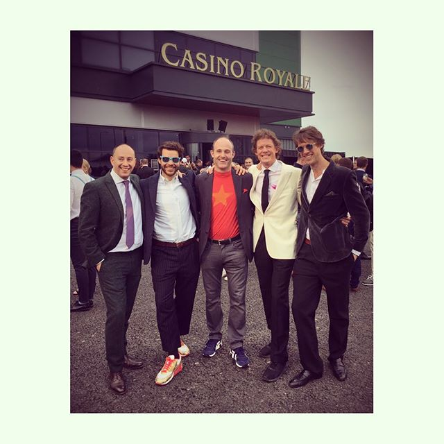 Grand opening of Casino Royale last night - undercover agents. 🕵🏻‍♂️🍸🛩🚤💵⚔️🛎🔱 @bluegaydon @lukegaydon  #secretcinema @secret_cinema @operation_wildcard #casinoroyale #jamesbond007 #followthemoney #trustnoone