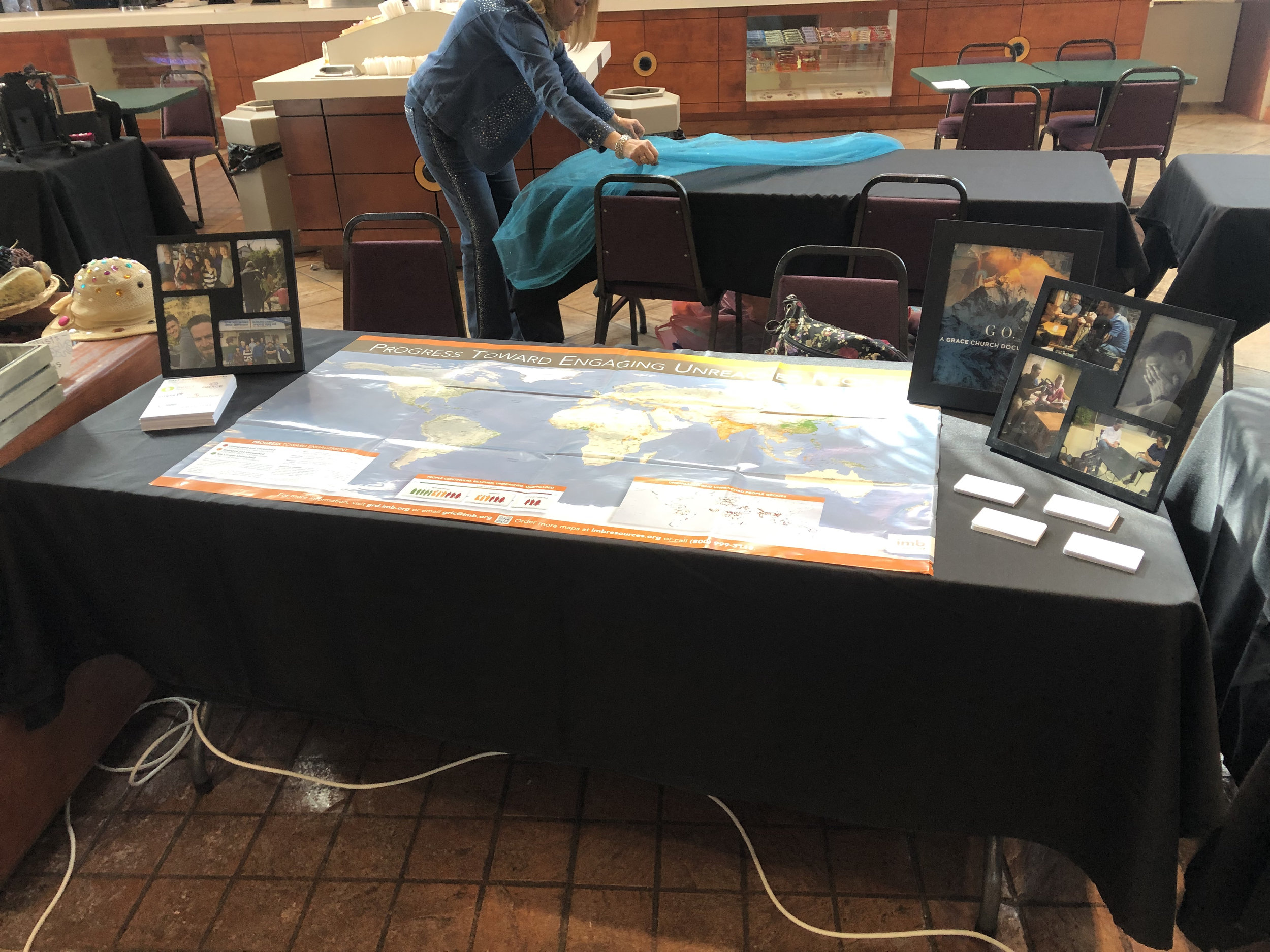 Our table representing the Unreached