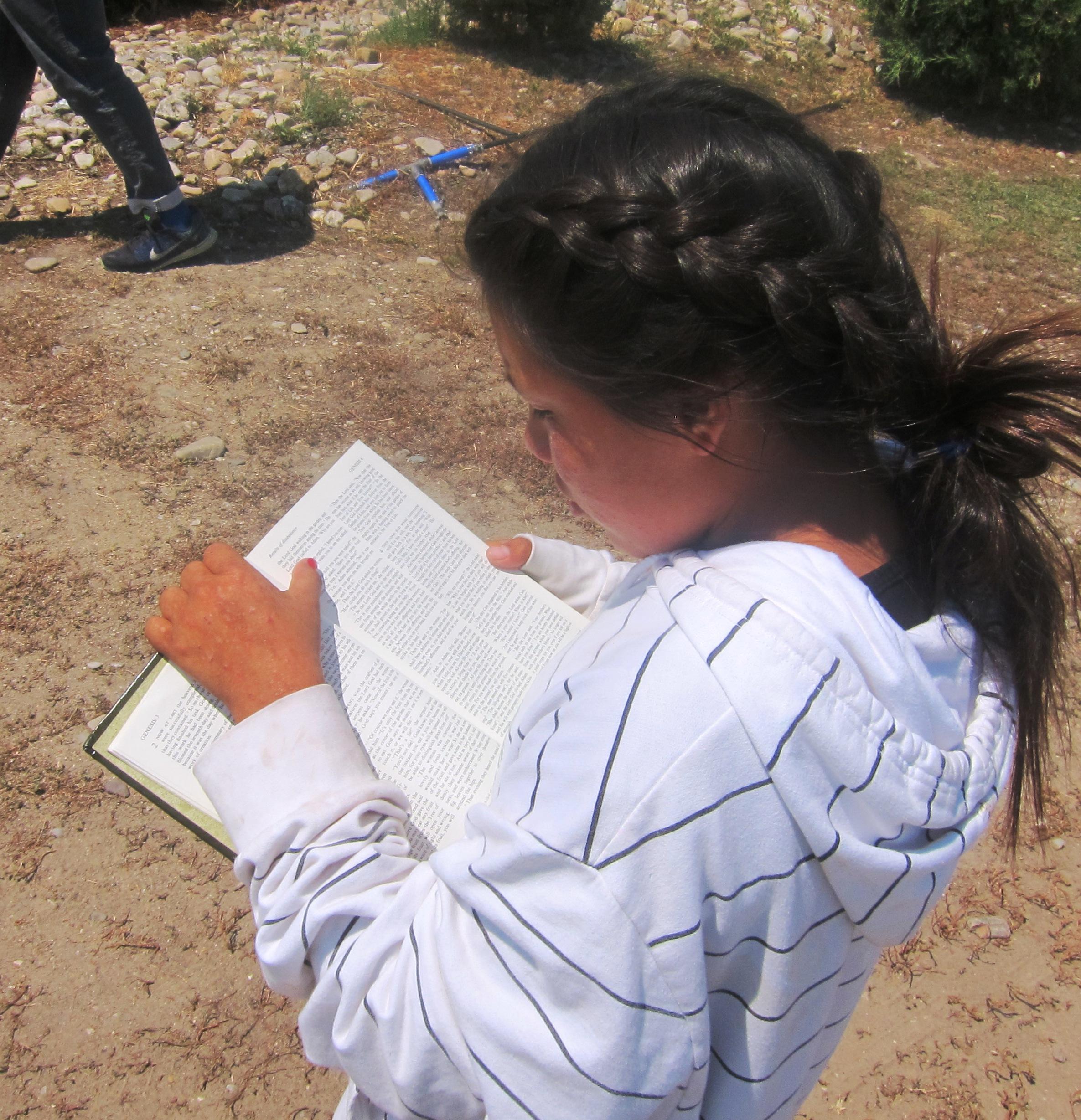 Carteecia reading bible.jpg
