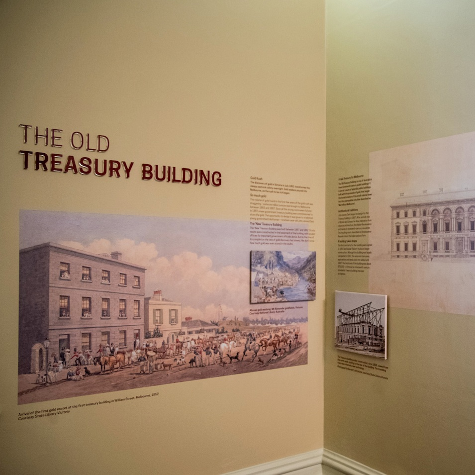 The Old Treasury Building Foyer, Melbourne