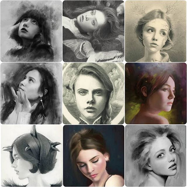The whole reason I started with portraiture is because it was my biggest weakness. It's so complicated before it starts making sense. Somewhere along the road I fell in love with it and now I can get lost in details like when the front teeth are showing 😍 Here is my #faceyourart . . . #faceyourartchallenge #faceyourart2019  #artchallenge #artmeme #traditionaldrawing #artistsoninstagram #artistsofig #pencildrawing #digital #digitalart