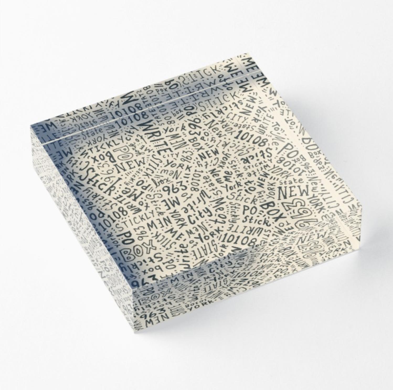 Acyrlic Block