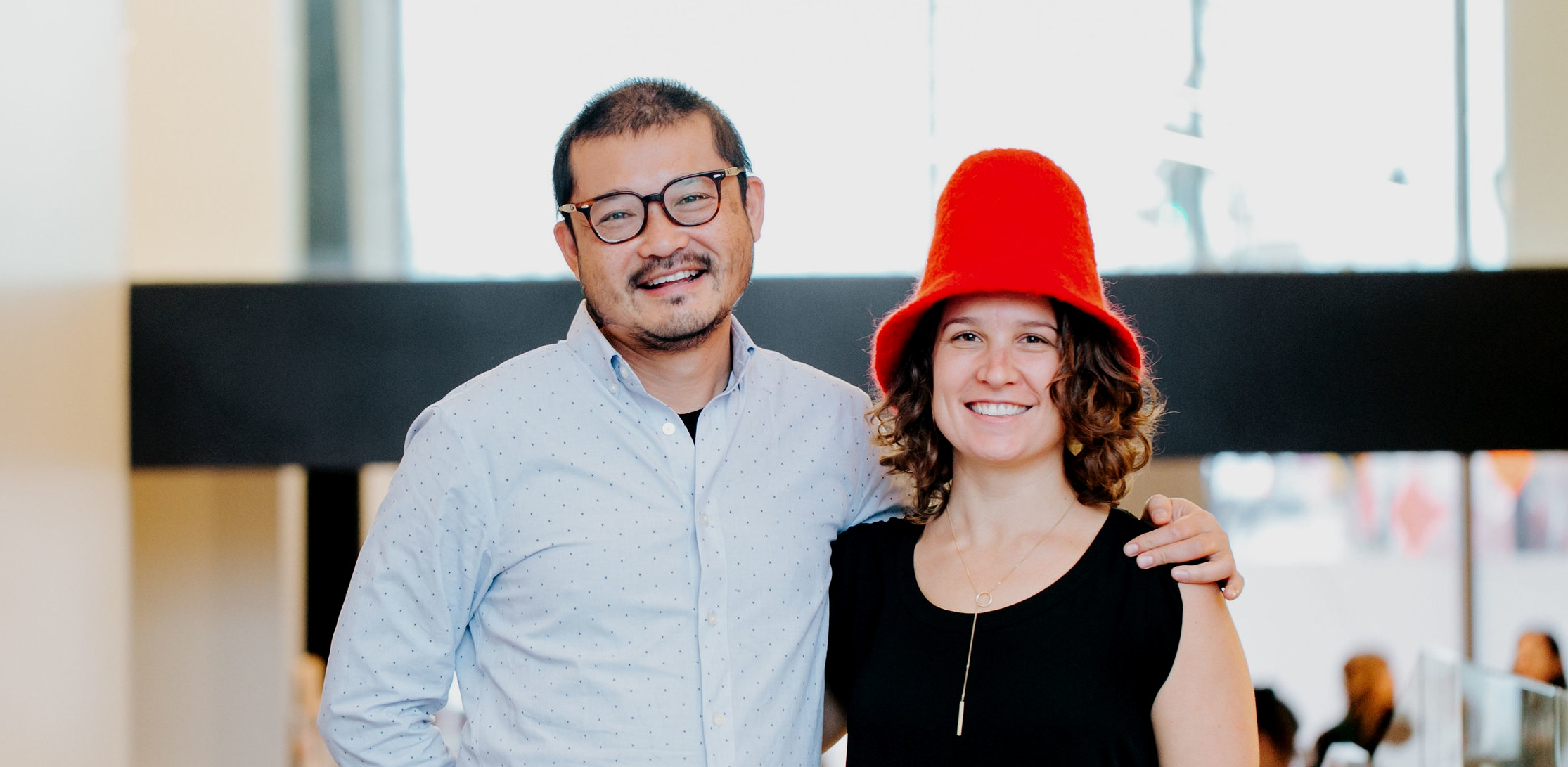 Douglas Tsoi and Suzanne Pflaum, Co-Founders of Mycelium