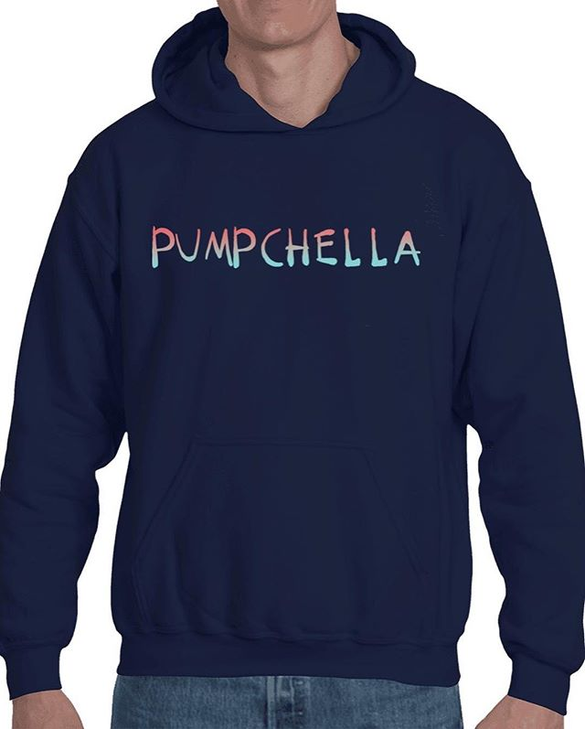 Coachella may have come and gone but Pumpchella is forever! Now you can celebrate the ULTIMATE festival lineup with some sexy unique merch. Slam the link in bio for hoodies and t-shirts and use the code PUMPHEAD for 10% off your first order.
