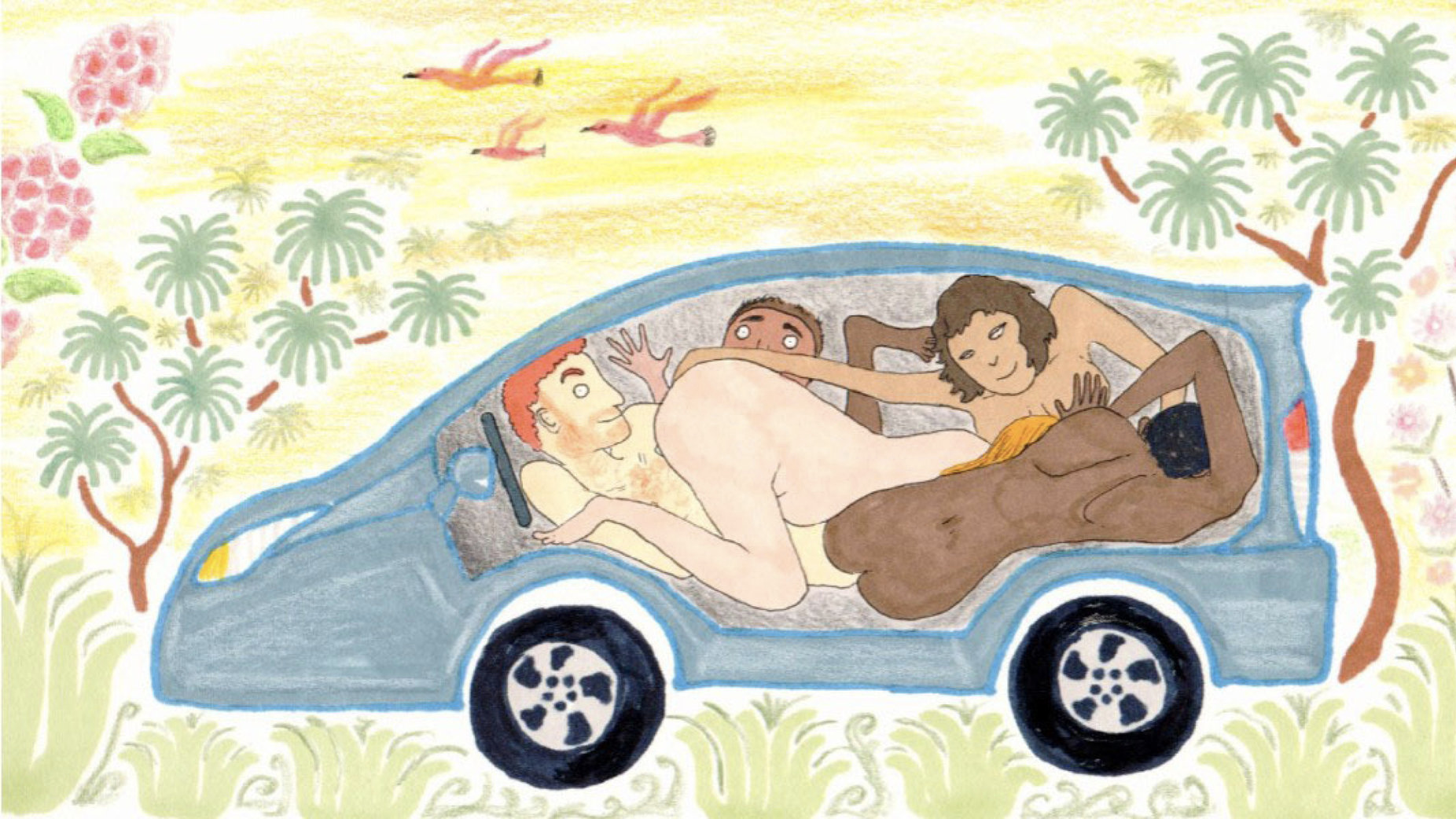 Carma Sutra: An Illustrated Guide to Vehicular Coitus  MEL MAGAZINE