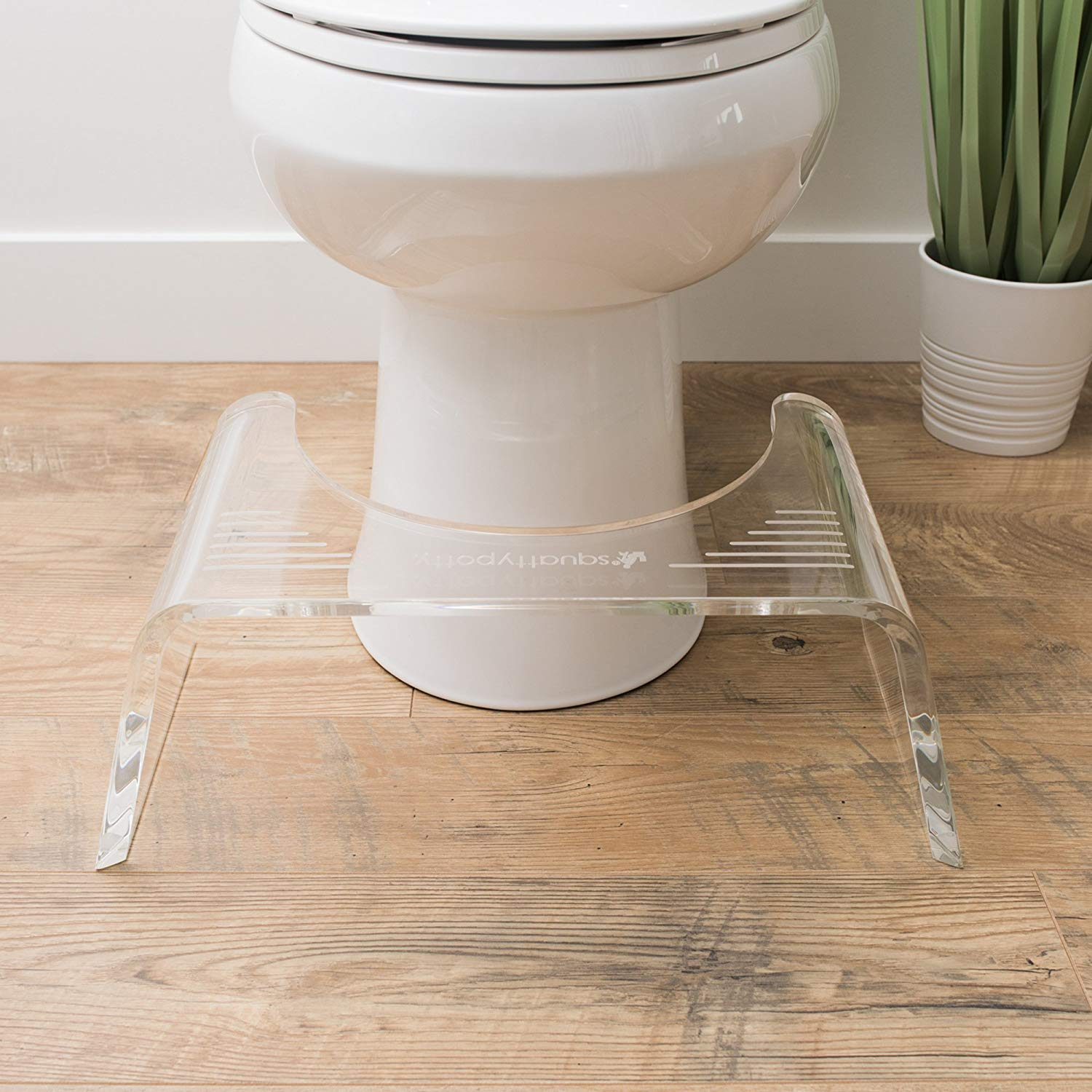 Squatty Potty Ghost Acrylic Toilet Stool