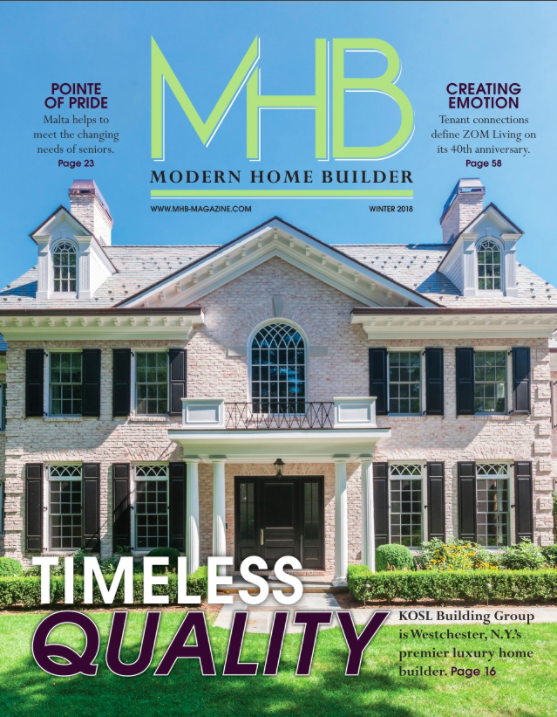 MODERN HOME BUILDER WINTER 2018