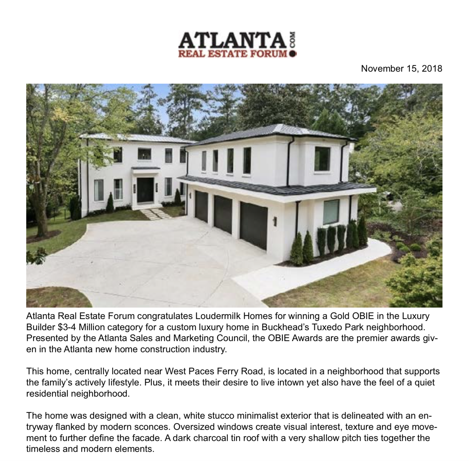 ATLANTA REAL ESTATE FORUM