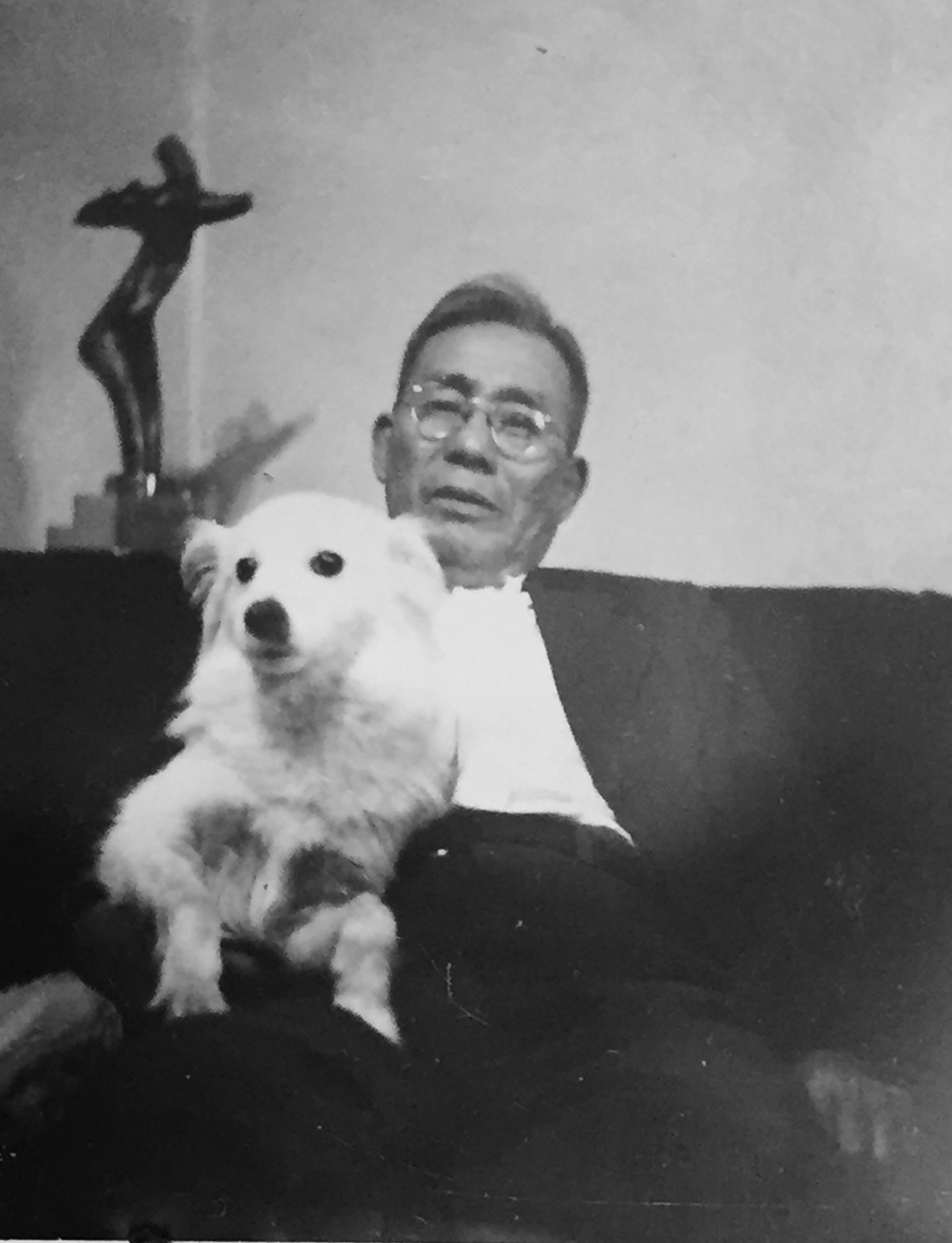 Tom's father, Yoshimatsu.