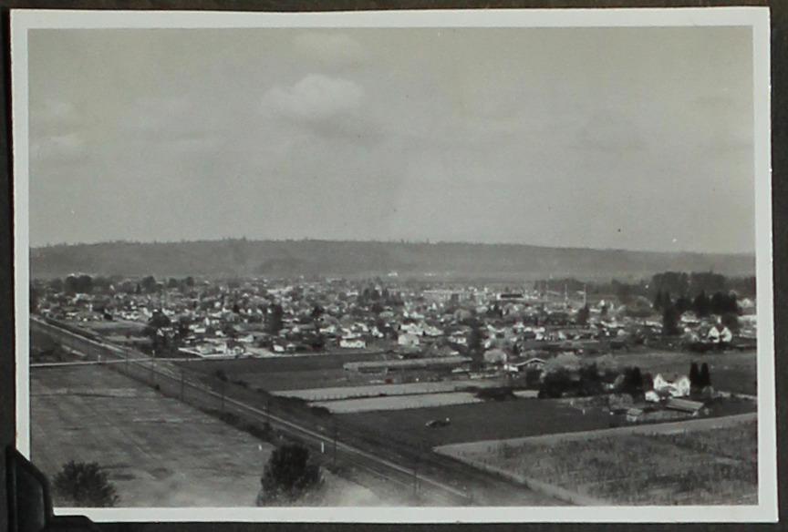 A view of Auburn, Washington in 1946. Photo: Masao Sakagami Collection