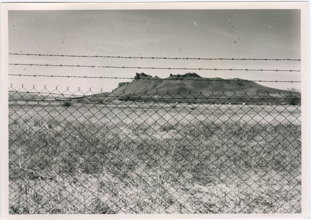 Tule Lake, view from behind the original eastern boundary fence. Photo courtesy of Frank Sato Collection