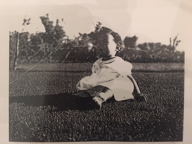 Lillian Ogata in the Manzanar Children's Village, 1945