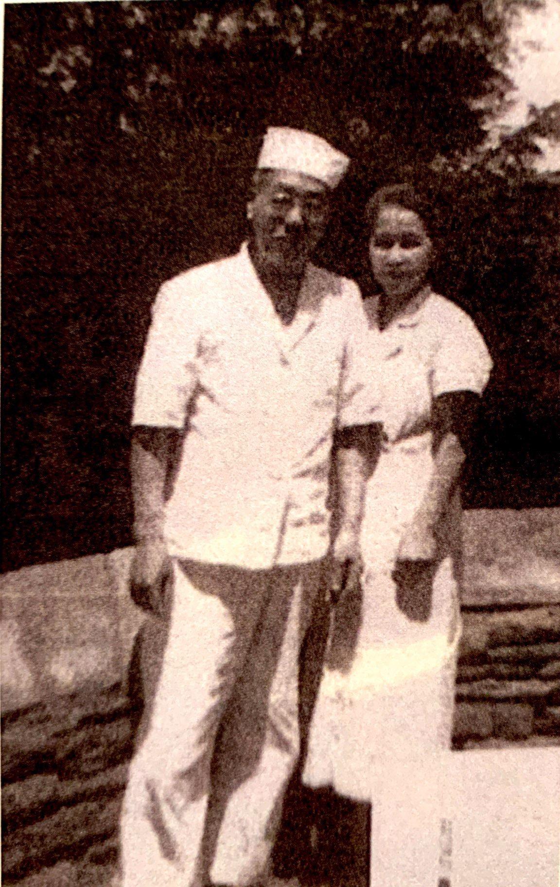 Frank and Maki Tanaka