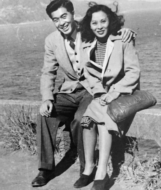 Tom and his sister, Betty